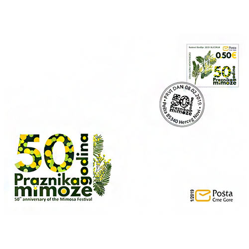 Montenegro-Stamps-Celebrate-50th-Anniversary-of-Mimosa-Festival