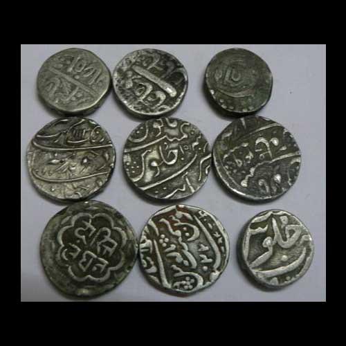 Mughal-Era-Coins-Found-in-Durg,-Chhattisgarh