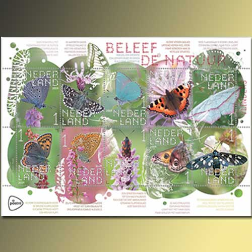 Butterflies-and-Moths-Featured-on-New-Dutch-Stamps