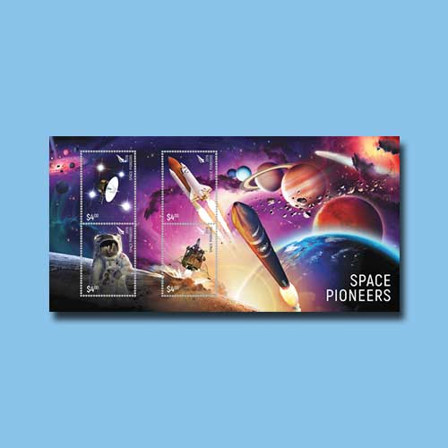 New-Zealand-Stamps-Dusted-with-Meteorite-Particles