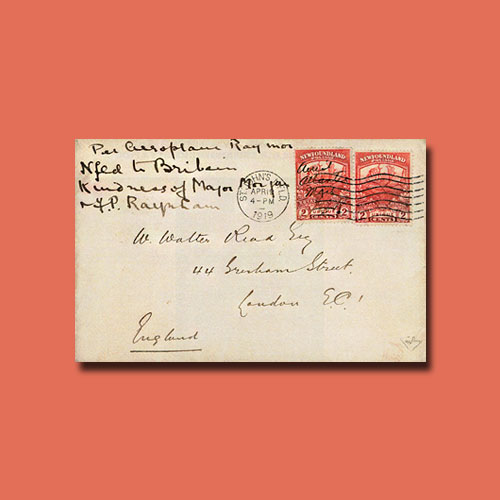 Rare-Newfoundland-Airmail-Cover-to-be-Auctioned