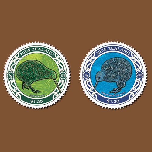 New-Round-shaped-Kiwi-Stamps-from-New-Zealand