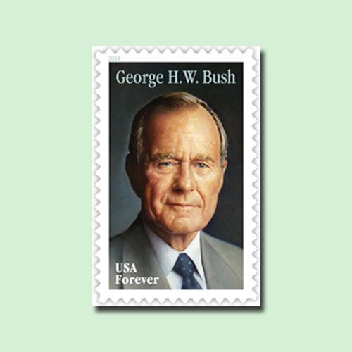 George-H.W.-Bush-stamp-to-be-Released