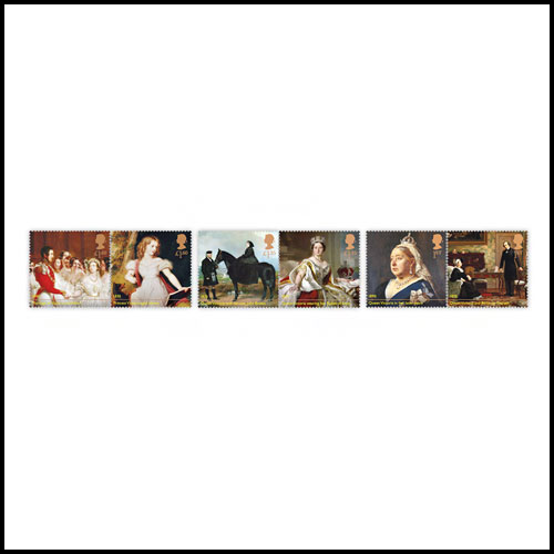 Latest-Royal-Mail-Stamps-Celebrate-Queen-Victoria's-Bicentennial