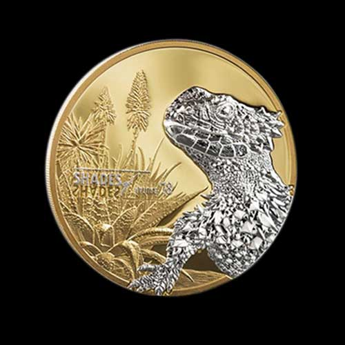 Giant-Girdled-Lizard-on-Latest-Coin-from-Cook-Islands