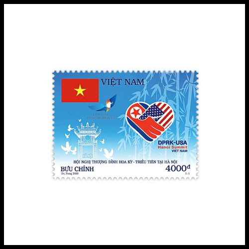 Latest-Vietnamese-Stamp-Commemorates-Hanoi-Summit