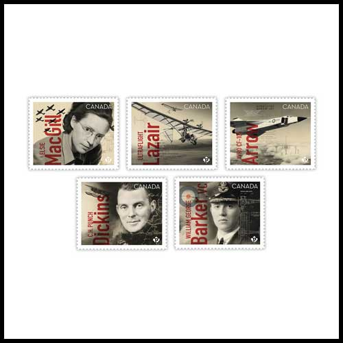 Canadians-in-Flight-Stamp-Set-Released