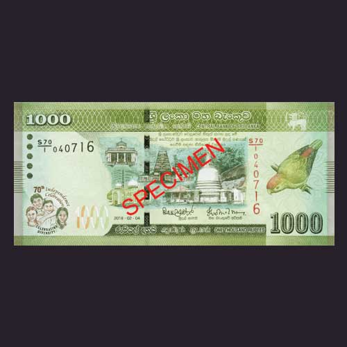 New-Sri-Lankan-Banknote-Commemorates-70th-Independence-Day