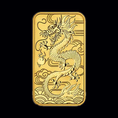 Rectangular-Coins-Featuring-Chinese-Dragon