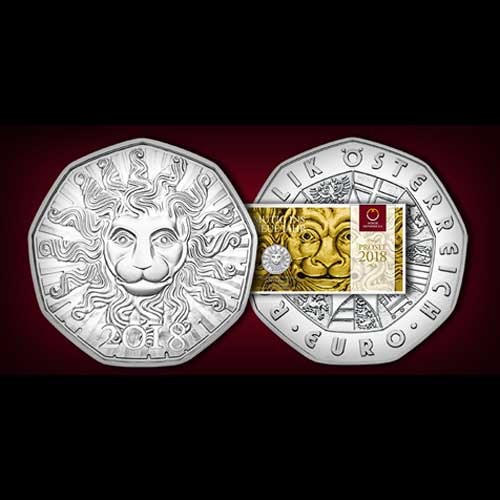 Austrian-Mint's-2018-New-Year's-Coin