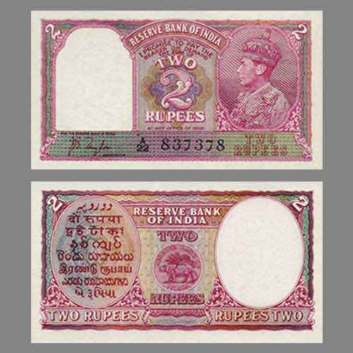 First-Two-Rupee-Notes-of-India-