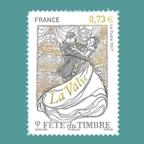 Dance-Forms-Celebrated-on-French-Stamps