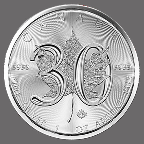 Silver-Maple-Leaf-Bullion-Coin-Celebrates-its-30th-Anniversary