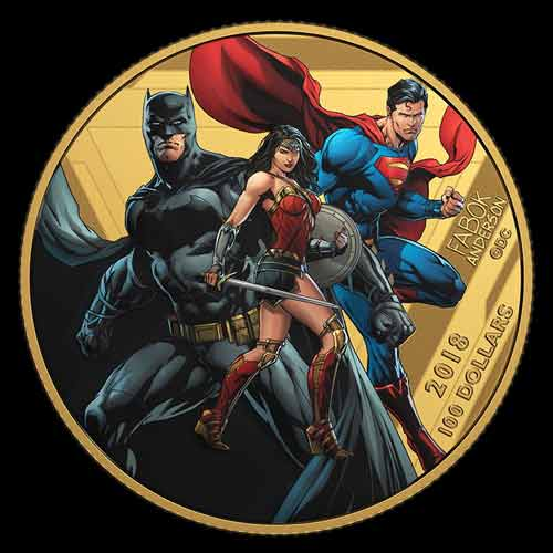 Justice-League-Coins-on-offer-at-Central-Canada-Comic-Con