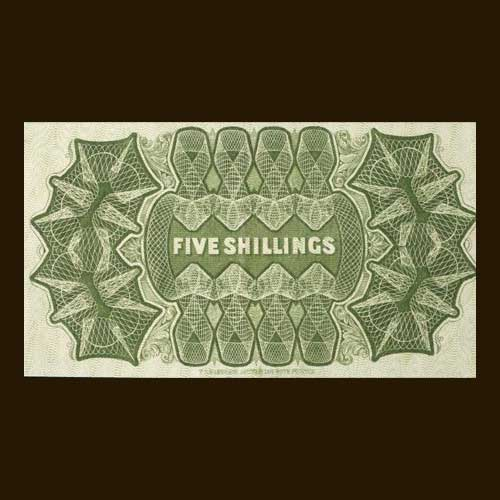 Rare-Five-shilling-Banknote-to-be-Auctioned-with-an-Estimated-Value-of-$70,000