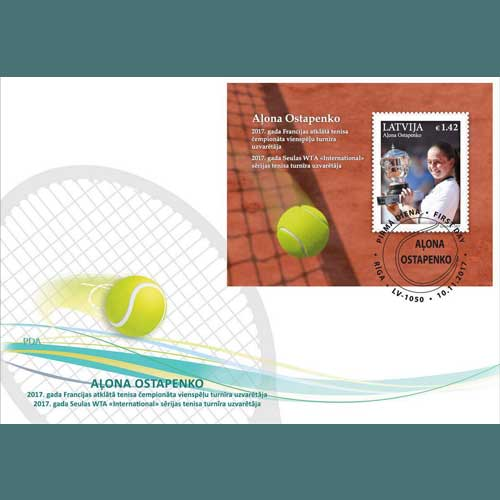 Latvia-Releases-Special-Stamps-Featuring-Tennis-Star-Ostapenko