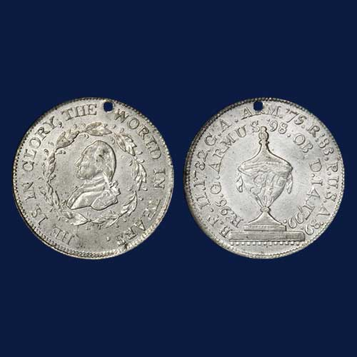 1799-Washington-Funeral-Urn-Medal-Auctioned-for-$8,000