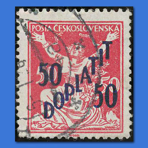 50-50-Doplatit-Stamp-of-Czechoslovakia
