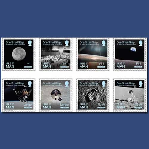 50th-anniversary-of-the-Moon-landing-celebrated-on-stamps
