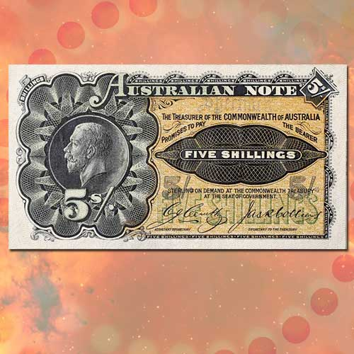 Rare-Australian-5-shilling-Specimen-Note-Sold-for-a-Handsome-Amount