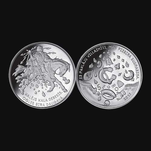 Latvia-Releases-New-5-Euro-Silver-Celebrating-Folk-Songs