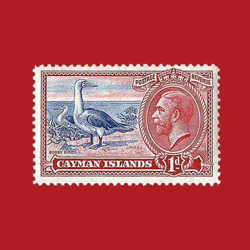 King-George-V-Pictorial-Stamps-from-the-Cayman-Islands-in-Demand