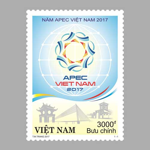 """Welcome-to-APEC-Vietnam-2017""-Postage-Stamp-Released"
