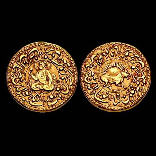 Beautiful-Jahangir-Gold-Mohur-Sold-for-Rupees-2.4-Crore