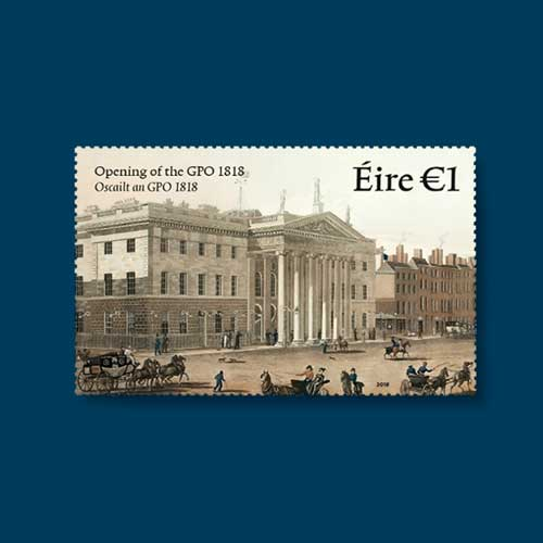 Stamp-Celebrates-200-Years-of-Ireland's-General-Post-Office