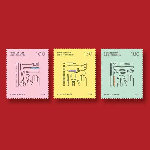 Second-Set-of-Stamps-from-Trades-and-Crafts-Series