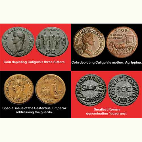 Coins of Caligula - A Story in The Metals | Mintage World