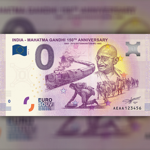 Zero-Euro-Souvenir-Banknotes-Celebrate-Gandhiji's-150th-Birth-Year