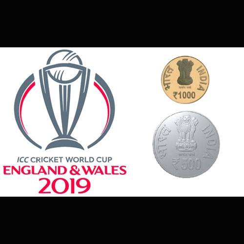 India-Might-Release-Coins-to-Commemorate-Cricket-World-Cup