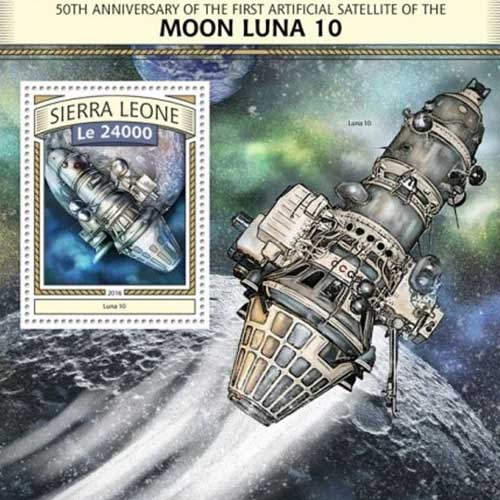 Luna 10 is launched | Mintage World