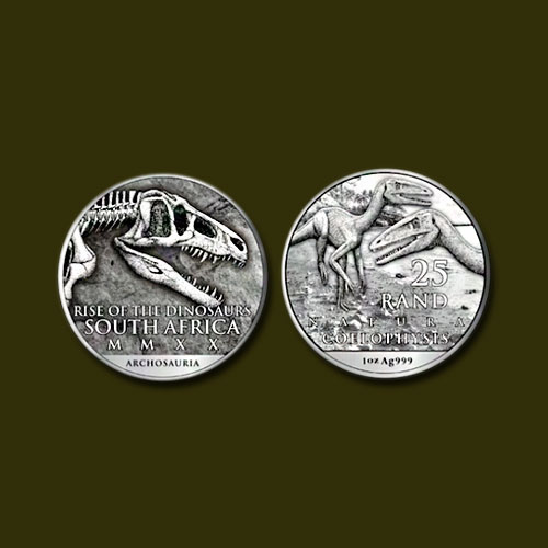 Natura-Series-Collectible-Coin-Featuring-Dinosaurs