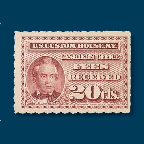 Civil-War-era-Proprietary-Stamp-Featuring-Dr.-George-W.-Holman