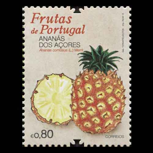 A-delicious-Pineapple-postage-stamp