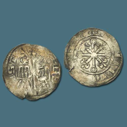 A-Rare-Silver-Penny-from-Medieval-England