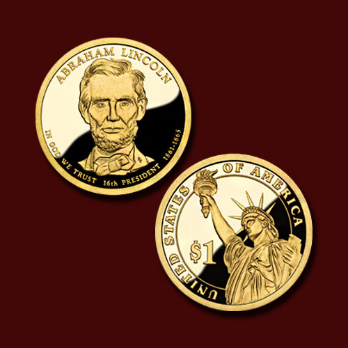 Abraham-Lincoln-One-Dollar-Commemorative-Coin