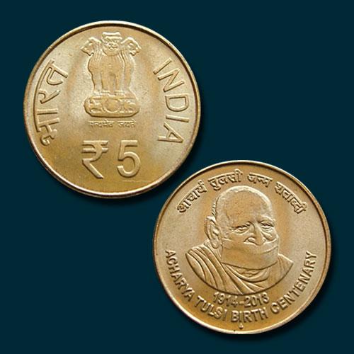 Acharya-Tulsi-Commemorative-Coin