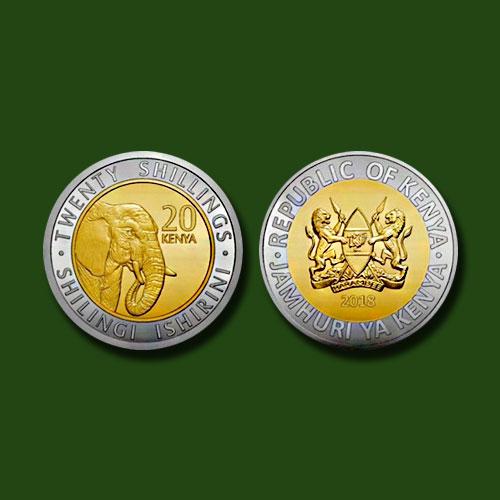 African-Wildlife-on-new-Kenyan-coins!