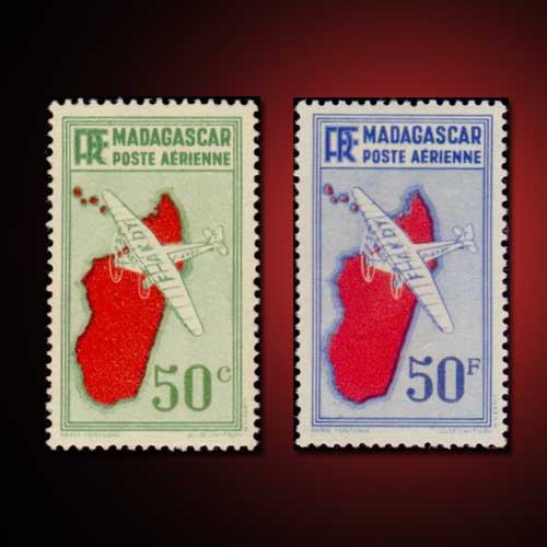 Airmail-Stamps-of-Madagascar