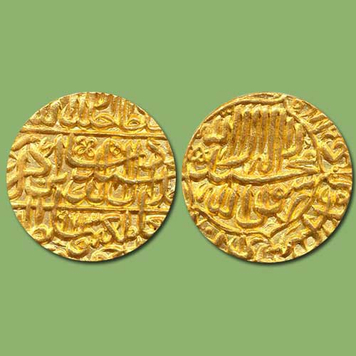 Akbar-Gold-Mohur-Listed-For-INR-1,25,000