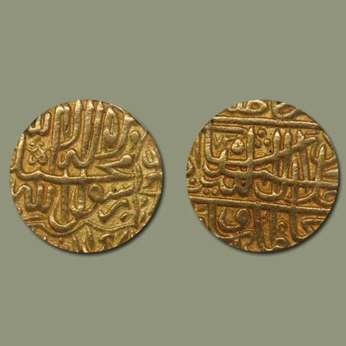 Akbar's-Gold-Mohur-Listed-For-INR-60,000