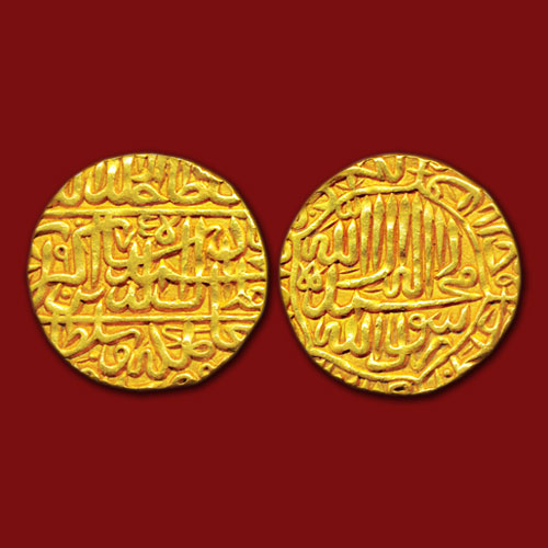Akbar's-Gold-Mohur-Sold-For-INR-1,00,000