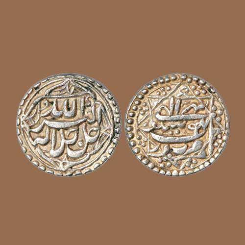 Akbar's-silver-Rupee-of-Sitpur-Mint