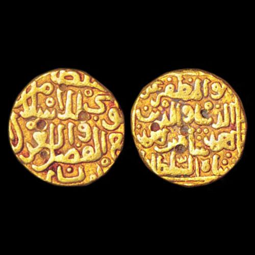 Ala-Al-Din-Ahmad-Shah-Gold-Tanka-Sold-For-INR-45,000