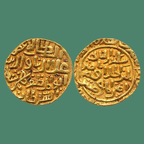 Ala-Al-Din-Bahman-Shah-Gold-Mohur-Listed-For-INR-5,00,000