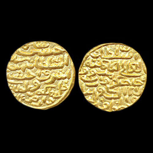 Ala-Al-Din-Hussain-Shah's-Gold-Tanka-Sold-For-INR-3,00,000