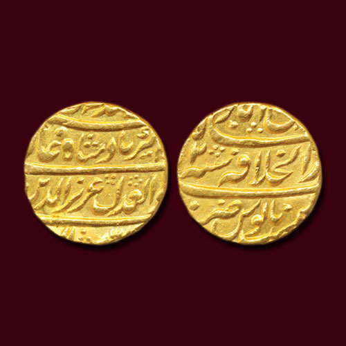 Alamgir-II's-Gold-Mohur-Sold-For-INR-44,000